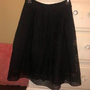 Francescas black skirt